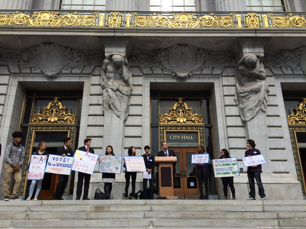 Lower voting age looks to have support of SF Board of Supervisors