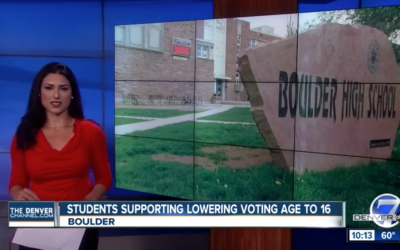 16 year olds in Boulder could have a say in local elections