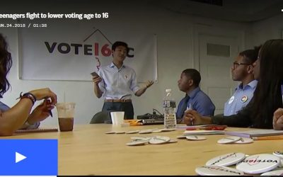 NBC Nightly News: Teenagers fight to lower voting age to 16