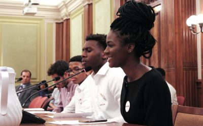 D.C. Teenagers Advocate for Voting Rights
