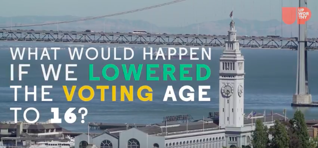 Oliver York is on a MISSION To Lower the Voting Age | Upworthy