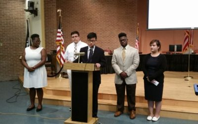 Students make the case for lowering Malden's voting age