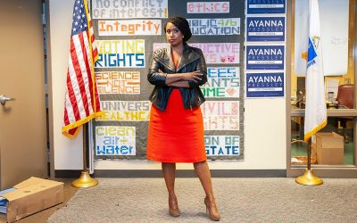 Rep. Ayanna Pressley Wants to Lower the Federal Voting Age to 16