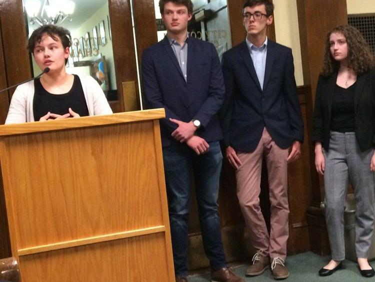 Beverly students push for lower voting age