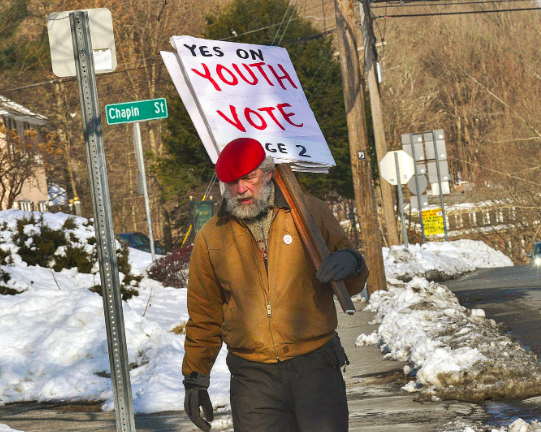 Youth Vote Moves Forward in Brattleboro