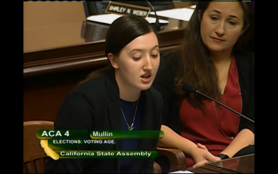 California student activists push to lower voting age to advocate for change